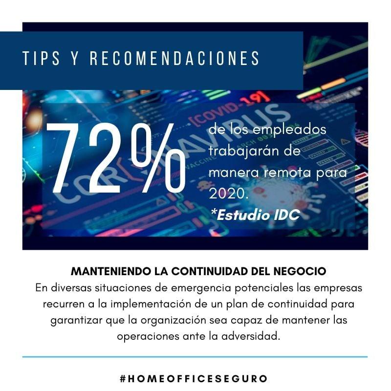 Con la llegada del Coronavirus a México, muchas organizaciones están implementando Home Office o activando su RDP de emergencia, ¡Conoce aquí los tips y recomendaciones para minimizar riesgos!