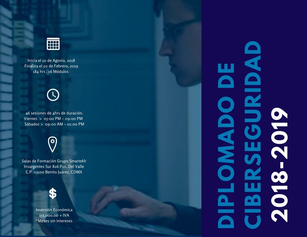 Diplomado de Ciberseguridad con la UNAM y Grupo Smartekh
