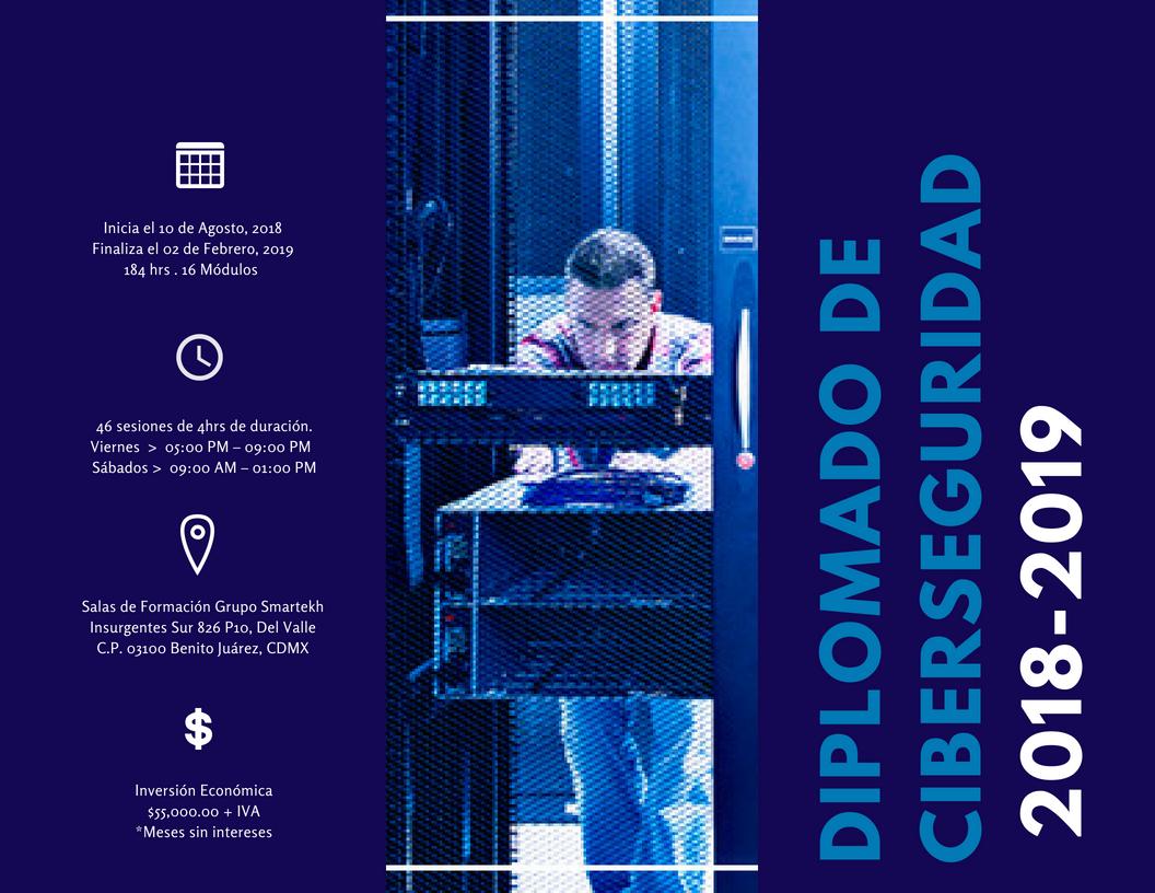 Diplomado de Cyber Seguridad con la UNAM y Grupo Smartekh (3)