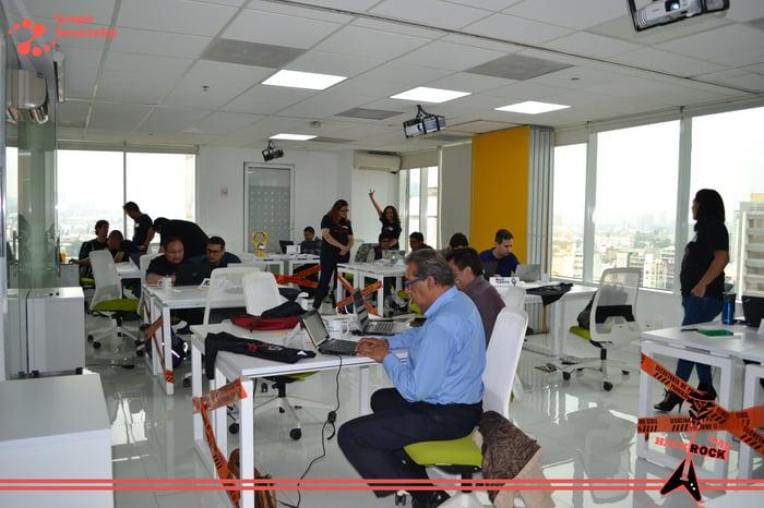Gracias a todos los profesionales del mundo de las TICs que se atrevieron a ser parte de este desafio Hack Rock Day