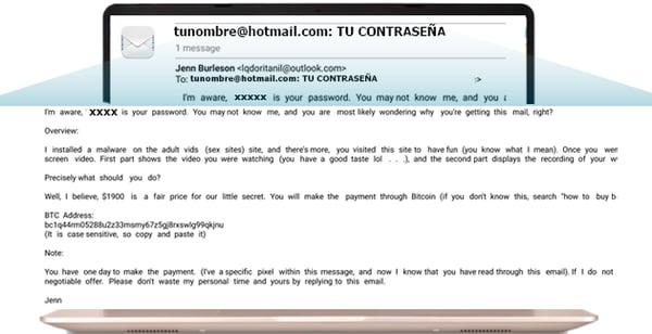 Soy victima de Phishing Que debes hacer con los chantajes por correo electronico