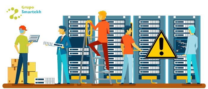 Conoce aquí las 4 Problemáticas y Riesgos a considerar en el Data Center